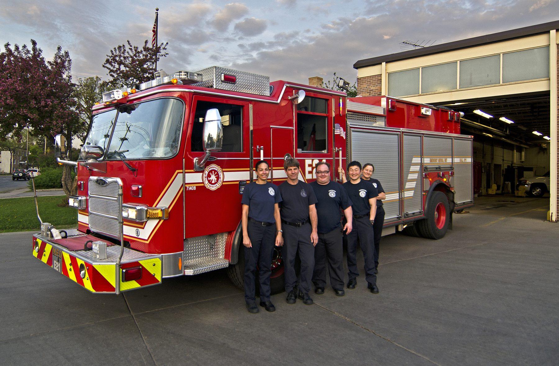 Longfellow's Minneapolis Fire Department Station 21