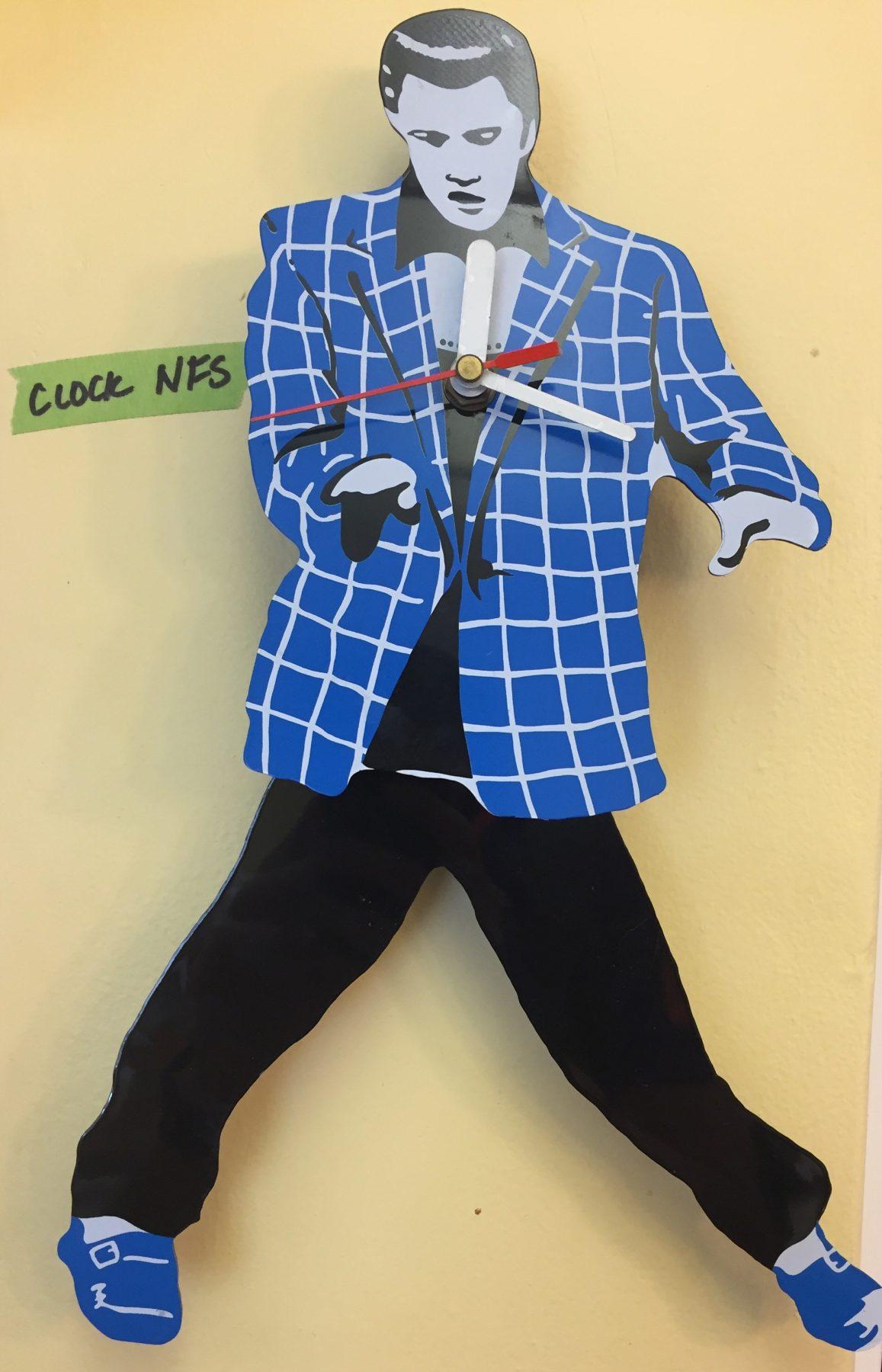 Elvis clock - NBF